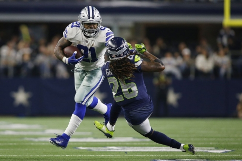 How Shaquill Griffin was worked by the Cowboys' duo run play
