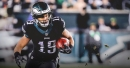 Eagles WR Golden Tate has been taken off the team's injury report