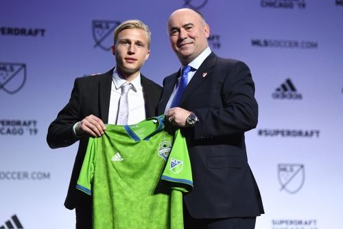 Sounders pick Creighton's Joel Rydstrand in second round