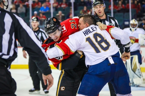 Florida Panthers at Calgary Flames [Game 46]
