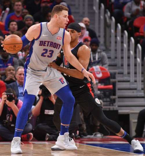 Detroit Pistons vs. Los Angeles Clippers: Blake Griffin makes return