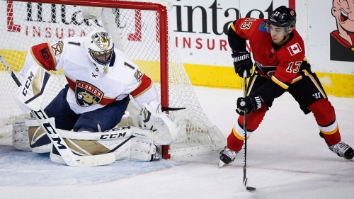 NHL Live Tracker: Flames vs. Panthers