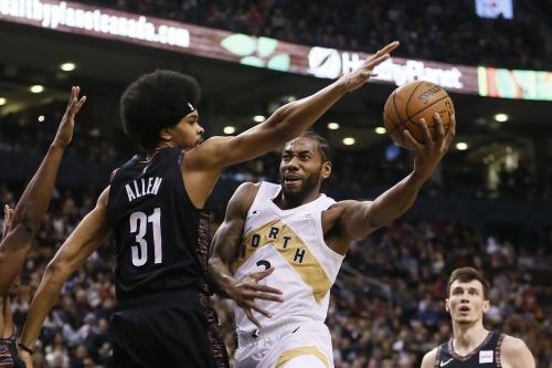 Raptors humble Nets in blowout fashion, 122-105