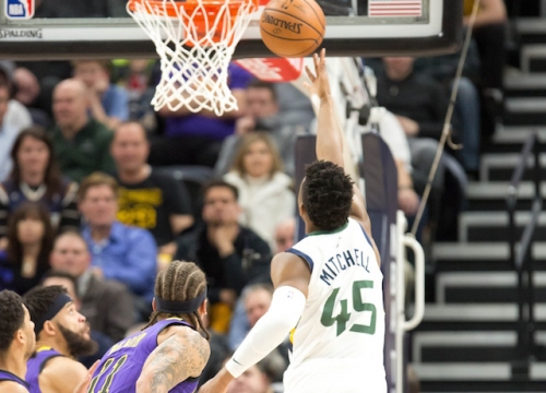 Donovan Mitchell, Utah Jazz Snap Lakers' 2-Game Winning Streak
