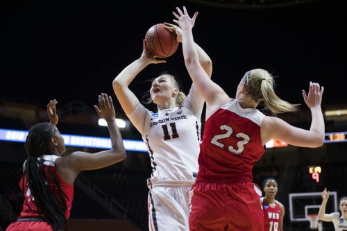 Beavers Outlast Bruins in 83-73 Victory