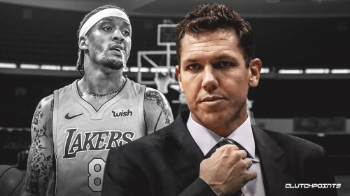 Luke Walton says Michael Beasley hurt his hand vs. Jazz