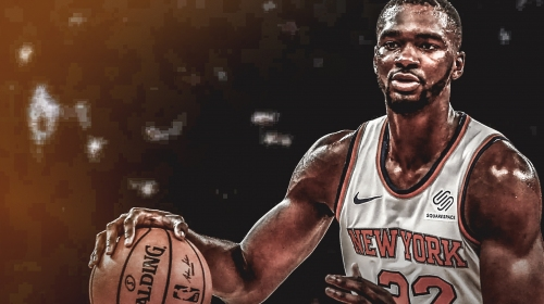 Noah Vonleh gets mocked by teammates for carrying huge water jug to practices