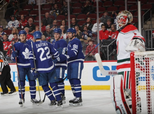 Toronto Maple Leafs Are Playing For Home Ice