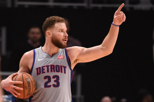 Detroit Pistons' Blake Griffin has no time for Clippers owner pregame