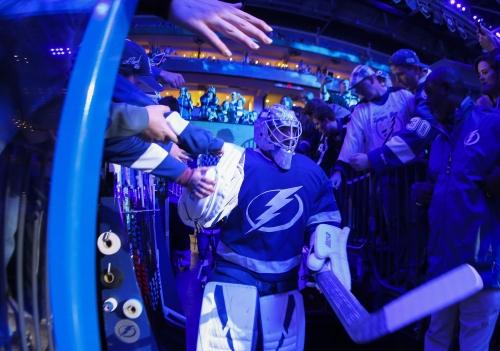 Lightning's Louis Domingue gets start against Buffalo