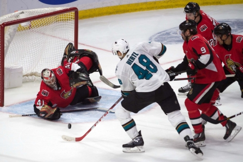 Game 46 Preview: Ottawa Senators @ San Jose Sharks