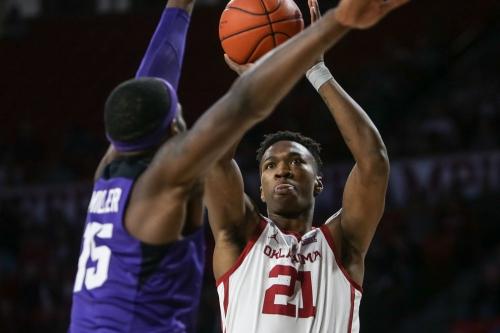 OU men's basketball: Sooners beat TCU in thriller, 76-74