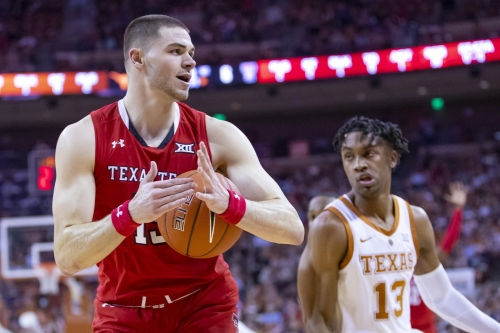 No. 8 Texas Tech holds off Texas for historic 68-62 victory