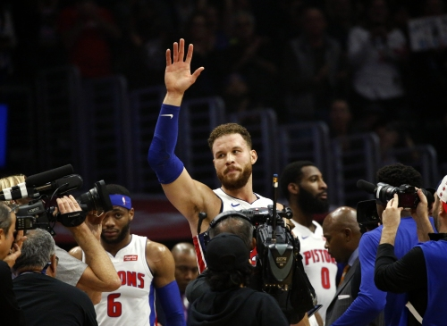 Blake Griffin returns to light up Clippers for 44 points in Pistons win