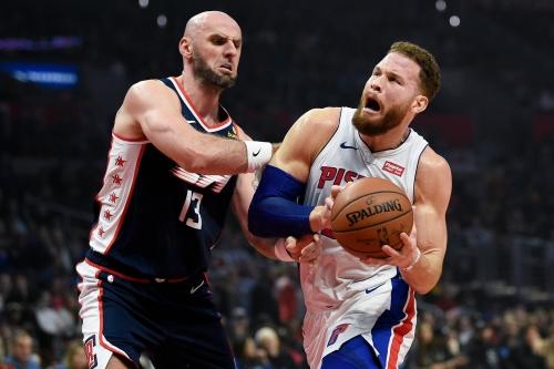 Blake Griffin scores 44, inspires Detroit Pistons past Clippers 109-104