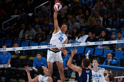 UCLA Men's Volleyball Sweeps McKendree; Faces Lindenwood Tonight