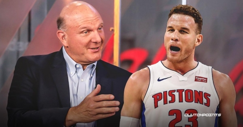 Pistons news: Blake Griffin addresses not shaking Steve Ballmer's hand pre-game