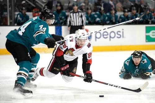 Senators at Sharks: Lines, gamethread, and where to watch