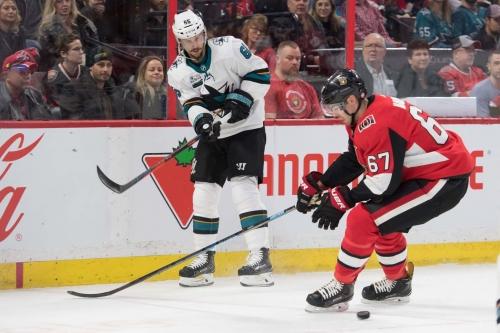 Open Thread, Game 46: Ottawa Senators @ San Jose Sharks