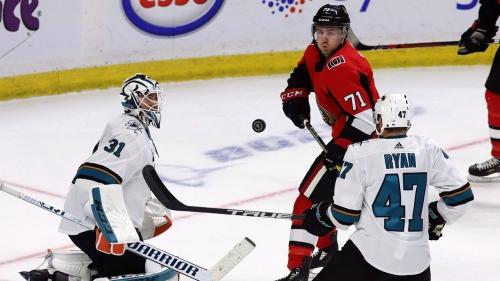 NHL Live Tracker: Senators vs. Sharks