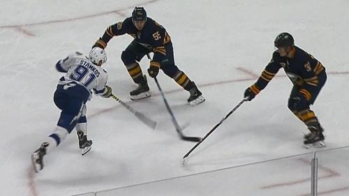 Stamkos, Kucherov connect on back-to-back goals vs. Sabres