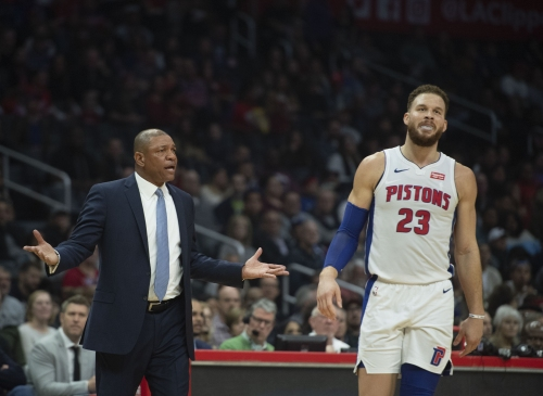 Blake Griffin's return to face Clippers at Staples Center lives up to dramatic billing