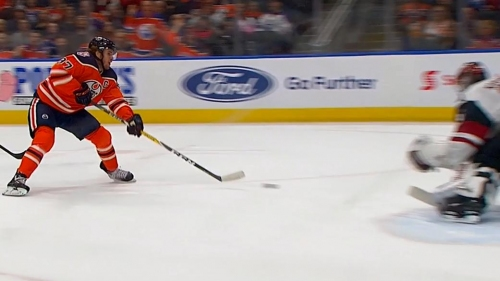 McDavid beats two Coyotes, scores five-hole on Kuemper