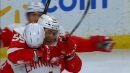 Red Wings' Tyler Bertuzzi nets first career hat-trick