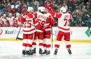 Tyler Bertuzzi hat trick leads Red Wings past Minnesota Wild 5-2