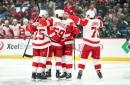 Tyler Bertuzzi's hat trick powers Red Wings past Wild 5-2