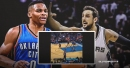 Video: Thunder's Russell Westbrook breaks Marco Belinelli's ankle with vicious crossover