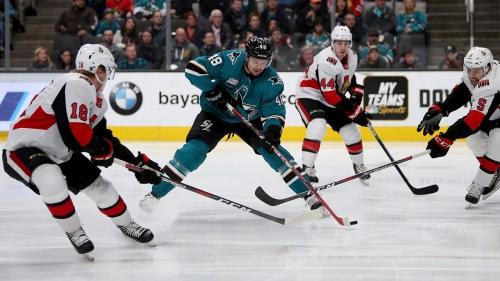 Brent Burns, Jones lead Sharks to win over Senators