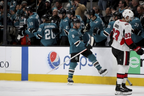 Takeaways: Donskoi's injury could test Sharks depth heading toward trade season