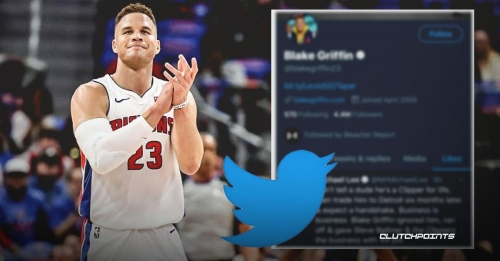 Pistons star Blake Griffin 'liked' tweet stating how Clippers did him wrong