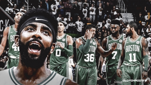 Kyrie Irving says Celtics are better than the majority of the NBA, just need to prove it
