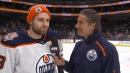 Draisaitl always wowed by Oilers fan support