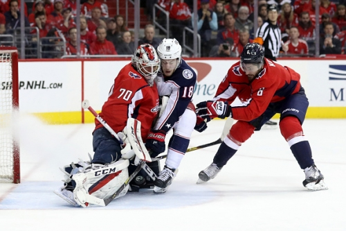 Washington Capitals Braden Holtby Returns to Practice After Eye Injury