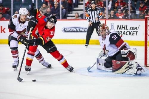 Arizona Coyotes at Calgary Flames [Game 47]