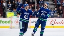 Loui Eriksson posts 3 points in Canucks' win over Panthers