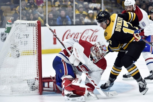 PREVIEW: Boston hosts Montreal Canadiens in Atlantic, old-school rival matchup