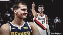 Nuggets' Nikola Jokic sees great strides in Blazers' Jusuf Nurkic