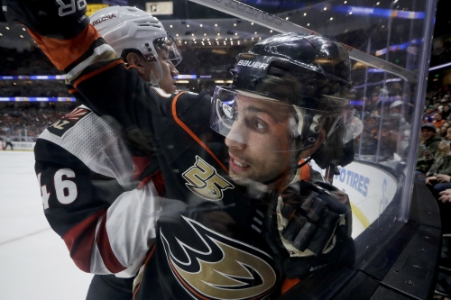 Struggling Ducks trade Andrew Cogliano to Stars for center Devin Shore