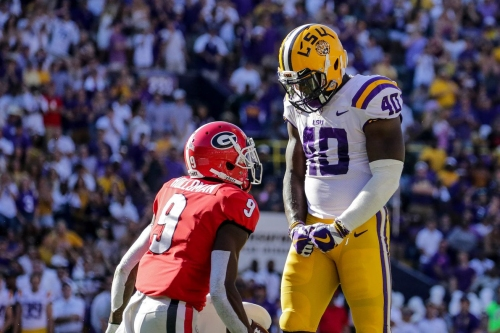 LSU LB and possible Bengals target Devin White declares for the NFL Draft