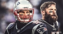 Patriots QB Tom Brady says Julian Edelman one of the toughest players in franchise history