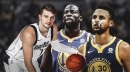 Warriors' Stephen Curry, Draymond Green rave about Luka Doncic's rookie season