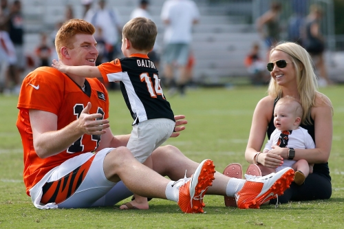 Andy and Jordan Dalton welcome third child, first girl