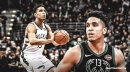 Only Bucks' Malcolm Brogdon would qualify for 50-40-90 club if season ended today