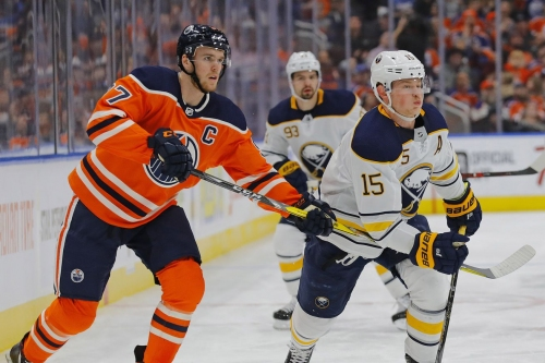 Game Thread: Sabres at Oilers, Game 46