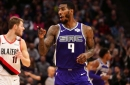 Iman Shumpert Has Drama with Blazers Locker Room After Kings Victory