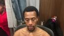 Detroit Pistons' Ish Smith discusses return from injury vs. Utah Jazz